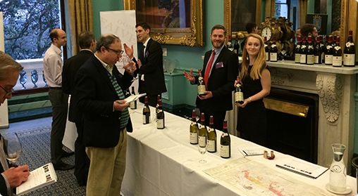 The annual MMD wine tasting - http://www.mmdltd.com/